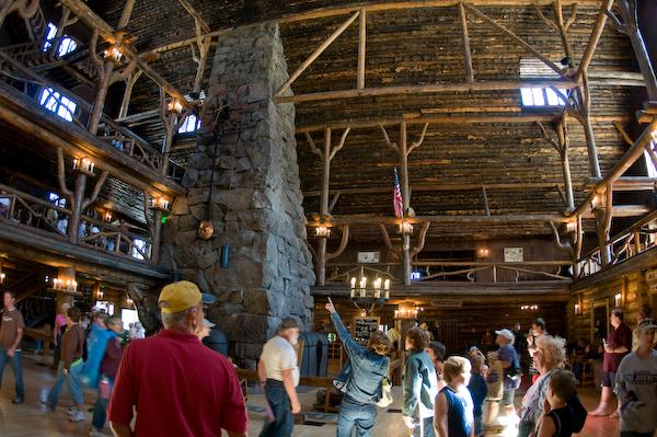 Old Faithful Inn (Yellowstone NP, Wyoming)